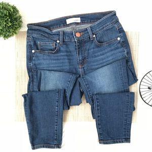 LOFT Modern Skinny Ankle Medium Wash Jeans